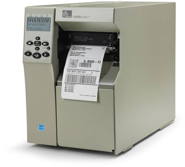 Zebra 105SL Plus Thermal Barcode Label Printer (103-8K1-00200)