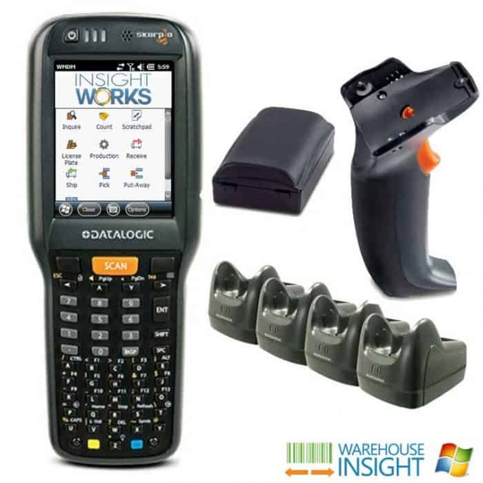 Warehouse Insight Skorpio X4 Standard Range Bundle