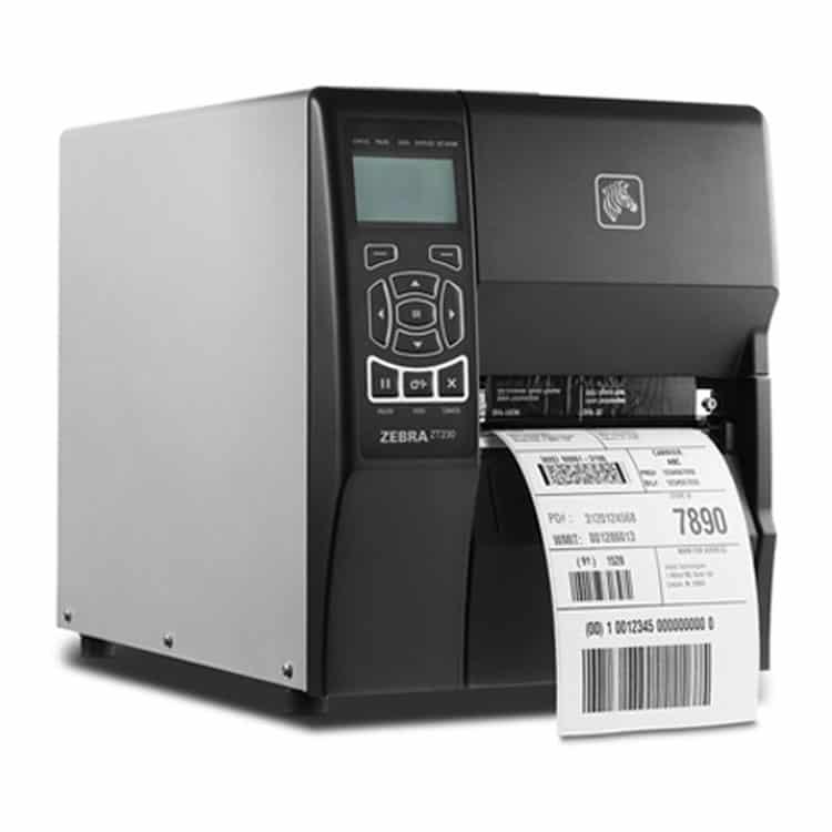 Zebra ZT230 Industrial Label Printer (ZT23043-D01200FZ)