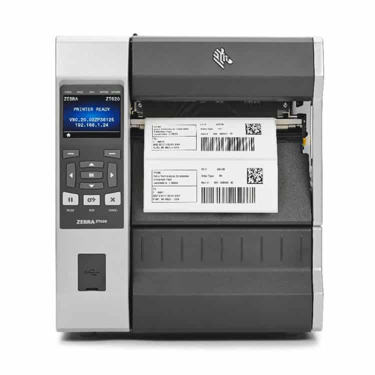 Zebra ZT620 Industrial Label Printer (ZT62062-T01A100Z)
