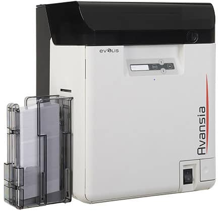 Evolis Avansia ID Card Printer - Dual-Sided - Retransfer (AV1H0000BD)