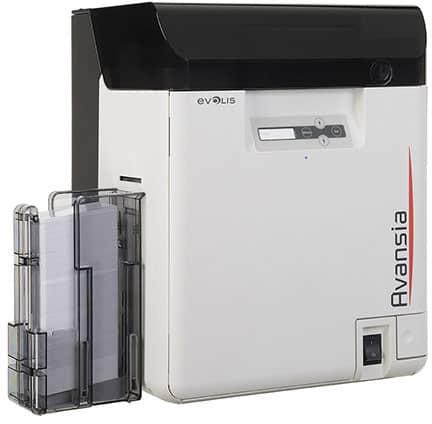Evolis Avansia ID Card Printer - Dual-Sided - Retransfer (AV1H0000BD)