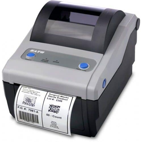SATO CG412 Barcode Printer (WWCG12041)