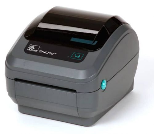 Zebra GK420d Thermal Barcode Label Printer (GK42-202210-00GA)