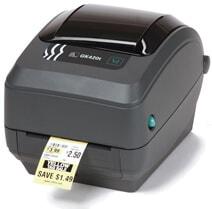 Zebra GK420t Thermal Barcode Label Printer (GK42-102210-000)