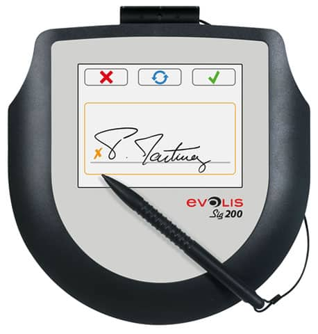 Evolis SIG100 Signature Pad (ST-CE1075-2-UEVL-MB1)