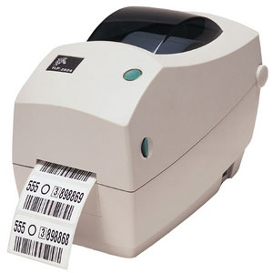 Zebra TLP 2824 Plus Thermal Barcode Label Printer (282P-101111-000)