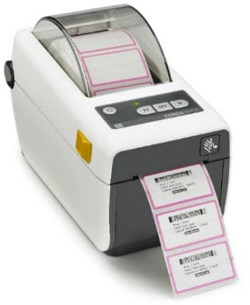 Zebra ZD410 Healthcare Thermal Barcode Label Printer (ZD41H22-D01000EZ)