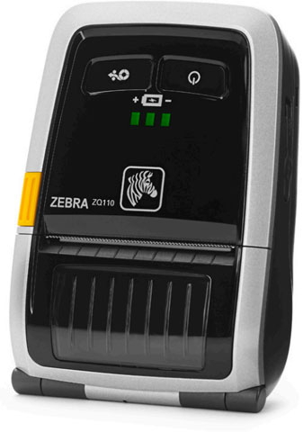 Zebra ZQ110 Portable Label Printer (ZQ1-0UG00010-00)