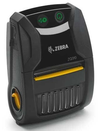 Zebra ZQ300 Series Portable Label Printer (ZQ31-A0E12T0-00)